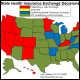 Status of State Health Insurance Exchange Decisions Map