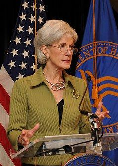 Secretary of Health and Human Services, Kathleen Sebelius
